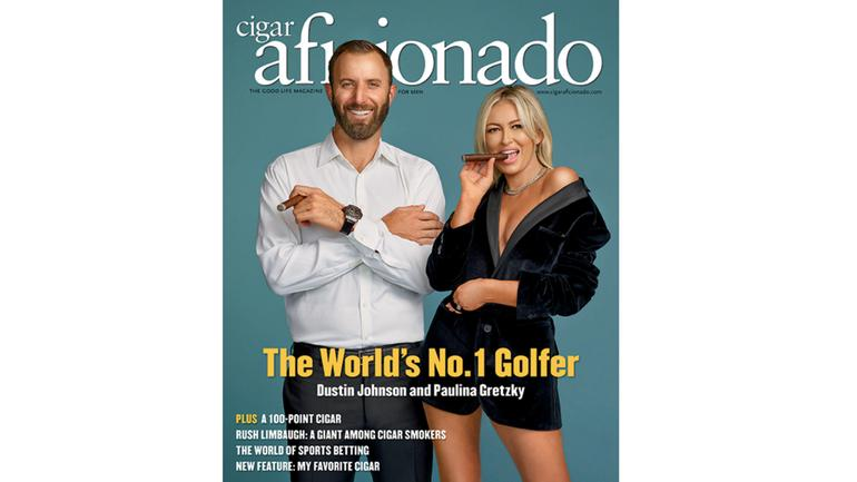 The March/April Issue Featuring Dustin Johnson and Paulina Gretzky