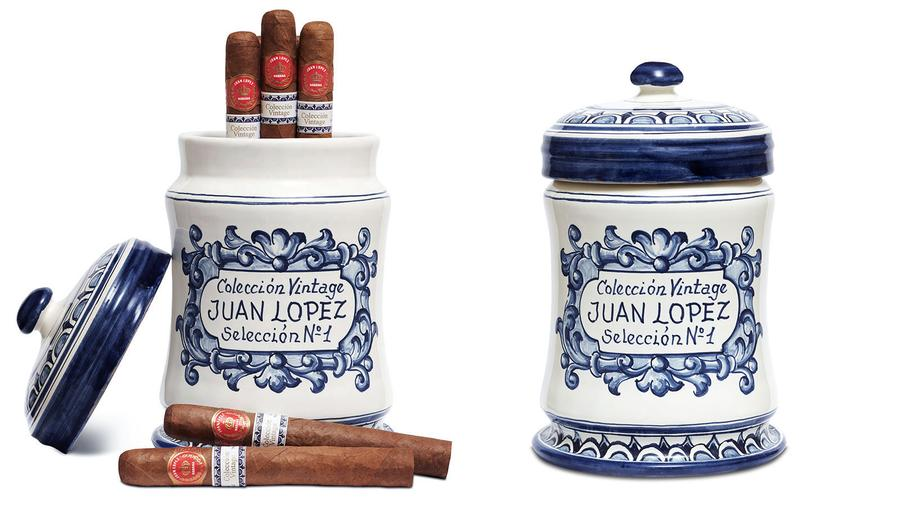 Spain Puts Aged Juan Lopez Cigars in a Jar