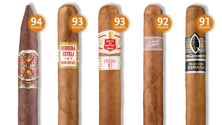 12 Cigars—Rated 91 Points Or Higher—To Smoke Right Now