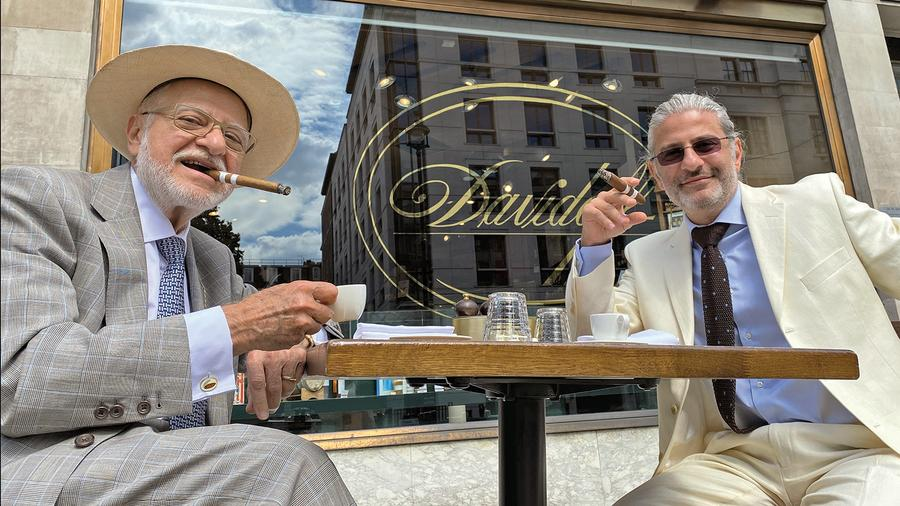 The Father-And-Son Cigar Team