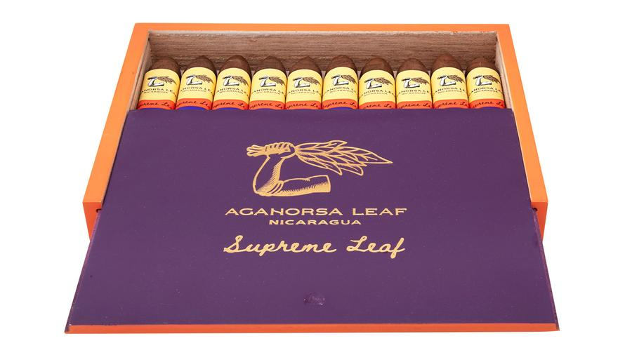 Aganorsa Leaf Adds New Sizes to Supreme Leaf and Aniversario Maduro Brands