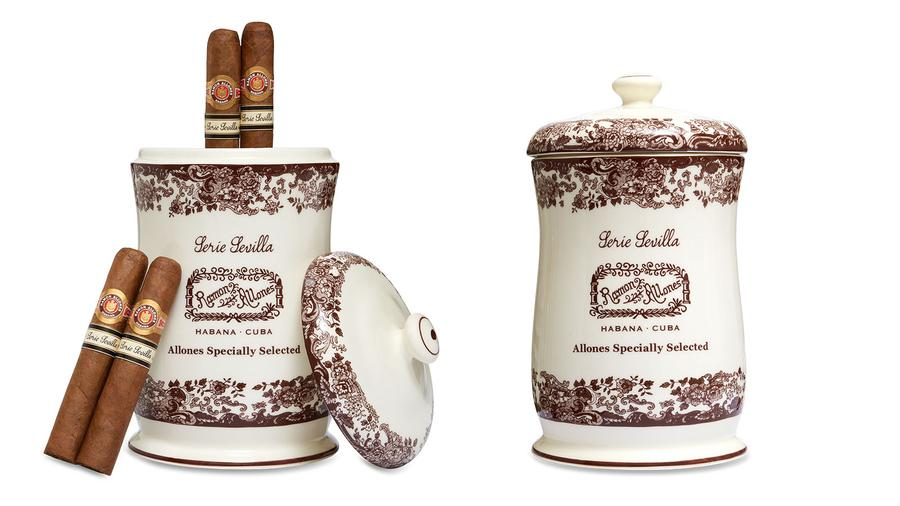 Jars of Aged Ramon Allones Made Just For Spain