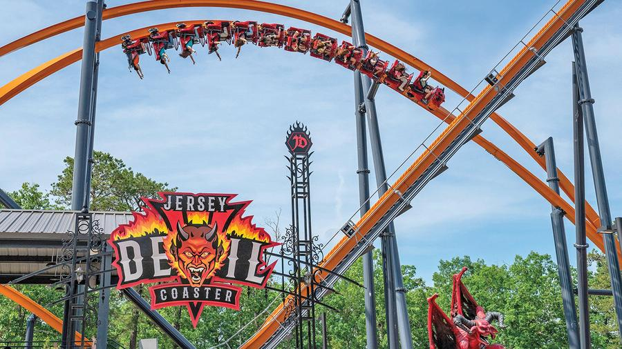 Riding America's Roller Coasters