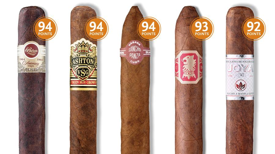 13 Highly-Rated Cigars To Smoke Now