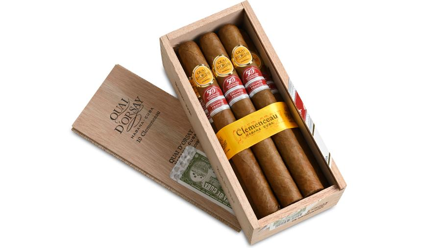 Cuban Quai d'Orsay Clemenceau Rolled Just For France