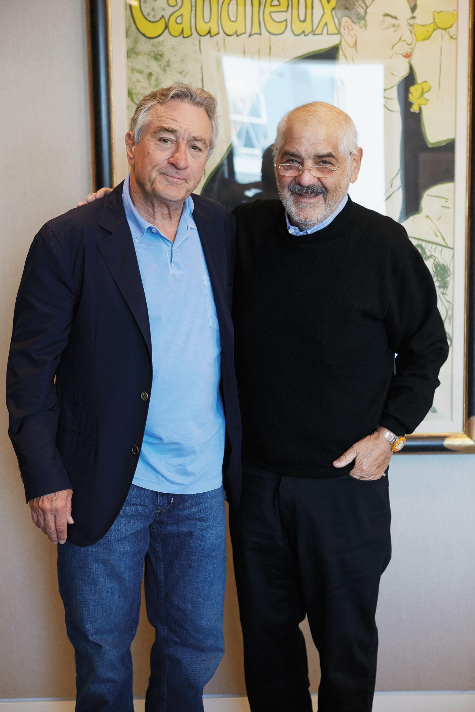 Marvin R. Shanken interviews Robert De Niro