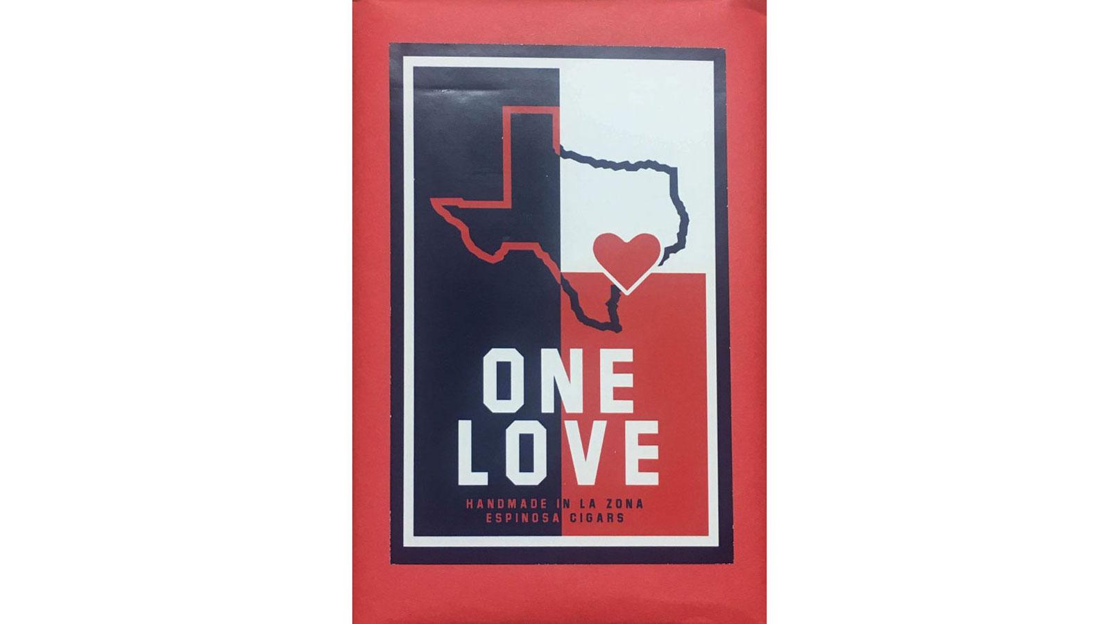 Espinosa's One Love five pack raised $5000 for hurricane relief.
