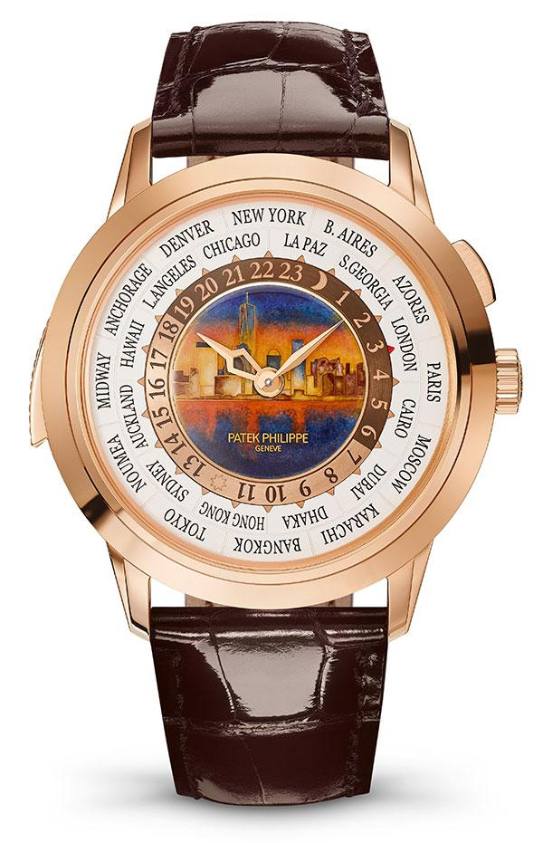 Patek Philippe's World Time Minute Repeater Ref. 5531 New York 2017 Special Edition.