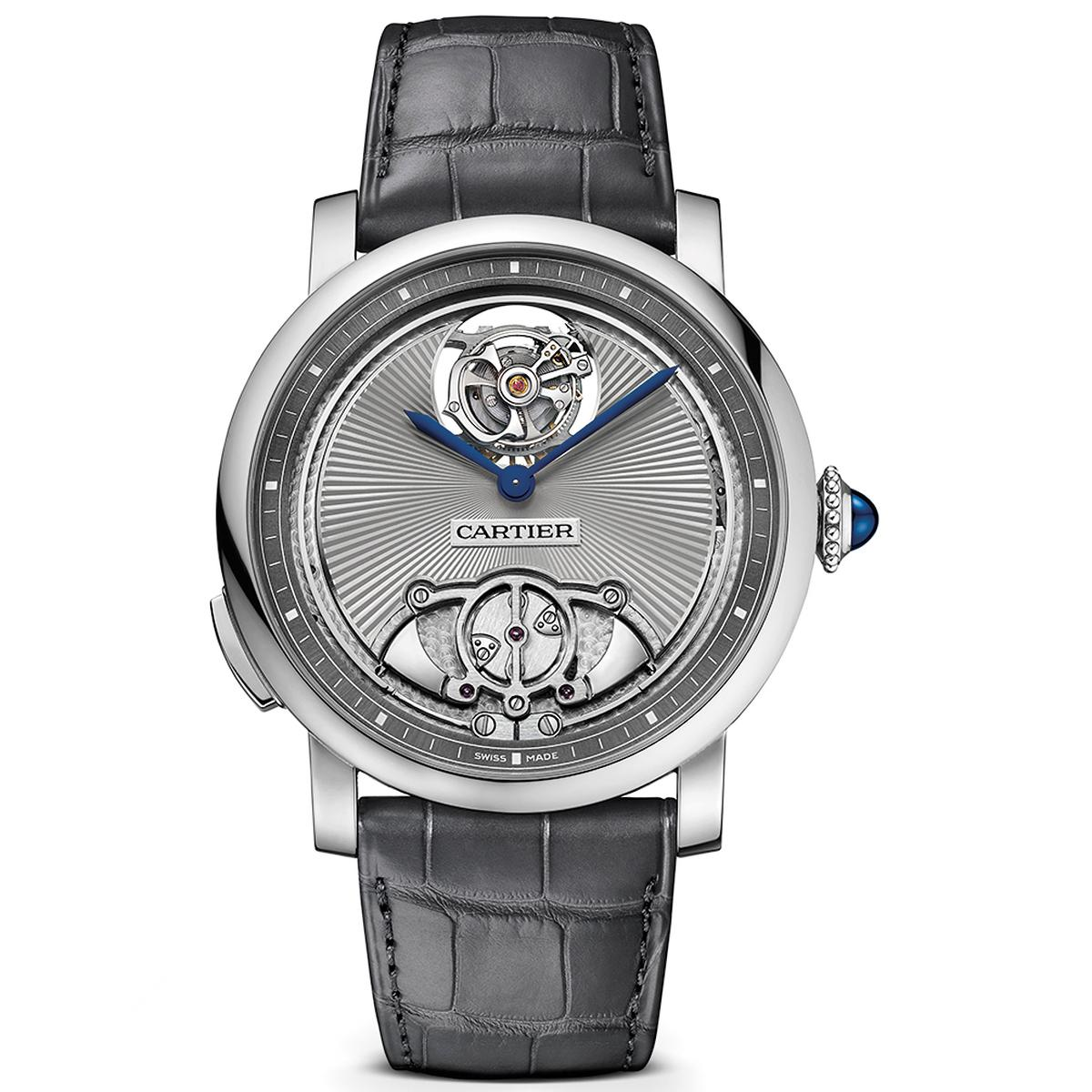 Cartier Rotonde de Cartier minute repeater flying tourbillon