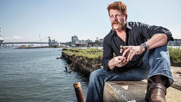 "Cudlitz, puffing away alone by the pier, prefers to smoke his cigars with others. ""For me, it's a very social thing,"" he says. ""It's carving out time. It's a commitment."""