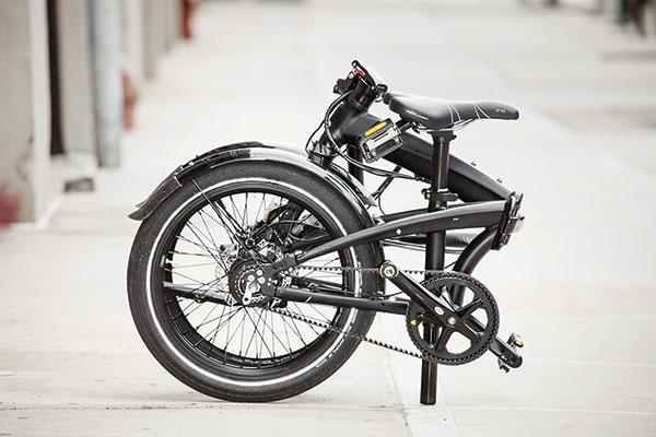 Tern's Verge S8i folding bicycle