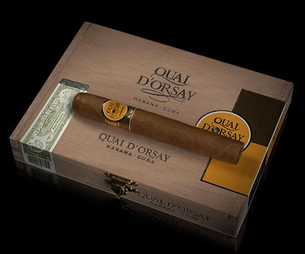 The new cigars were gorgeous in presentation, well made with dark, oily wrappers not typically found on the old Quai d'Orsay.