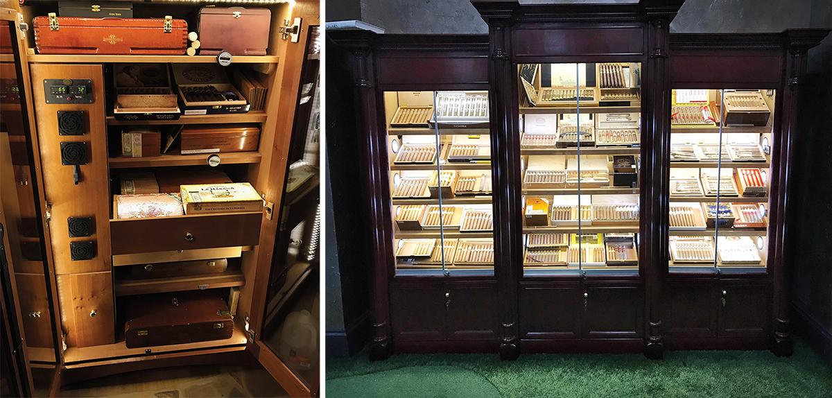 Harvey is a cigar collector, with humidors located in the many spots where he works and lives. He has 10 humidors in Chicago and Atlanta, to ensure a great smoke is never far away.
