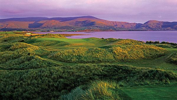 The view from the back tee of the 17th at Waterville is one of Ireland's finest.