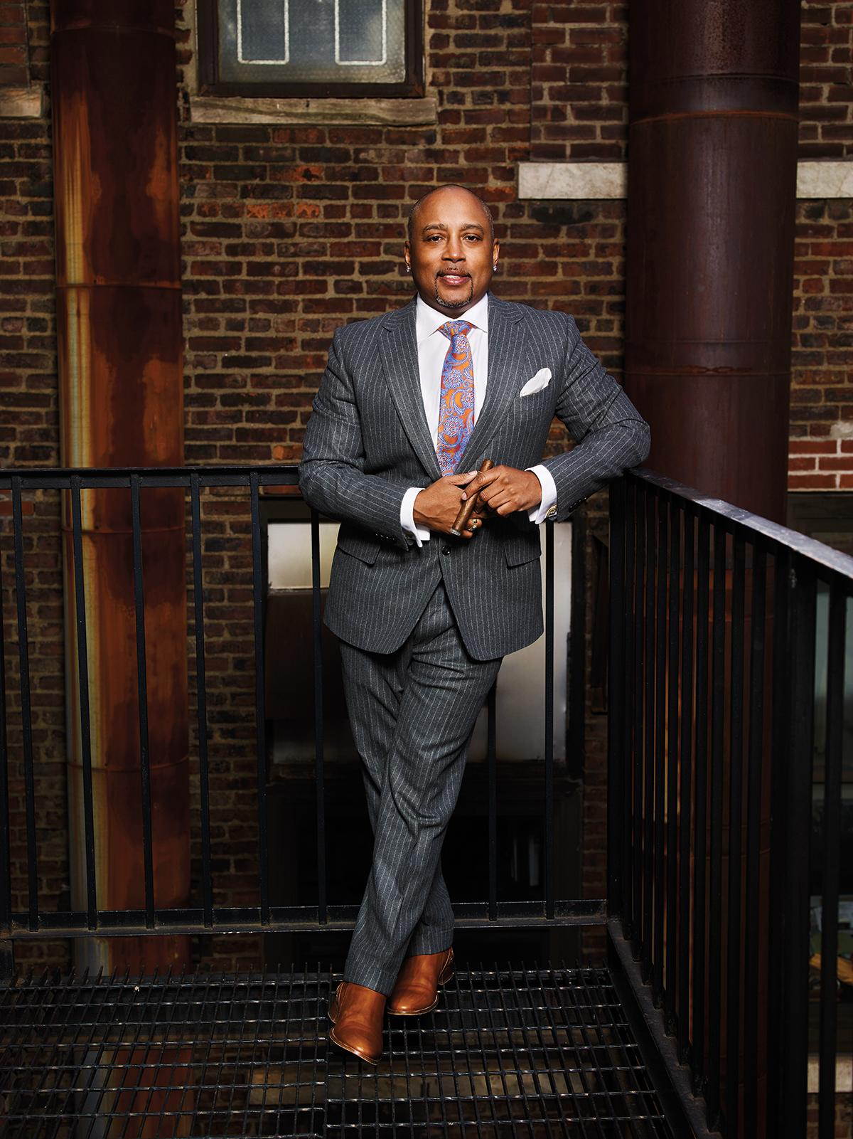 Daymond John for Cigar Aficionado