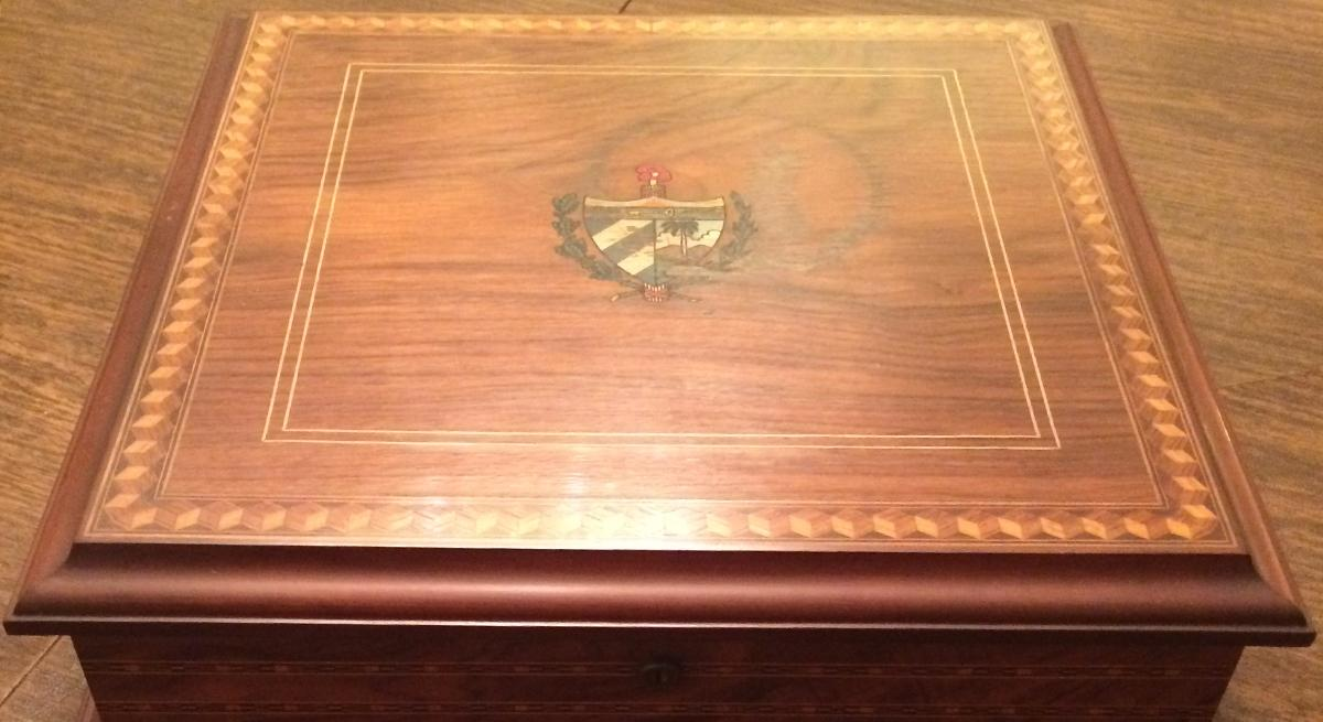 Fidel Castro gave James Donovan this humidor after negotiations to free the Bay of Pigs prisoners.