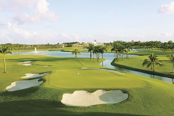 The Blue Monster at Trump National Doral Golf Club in Miami