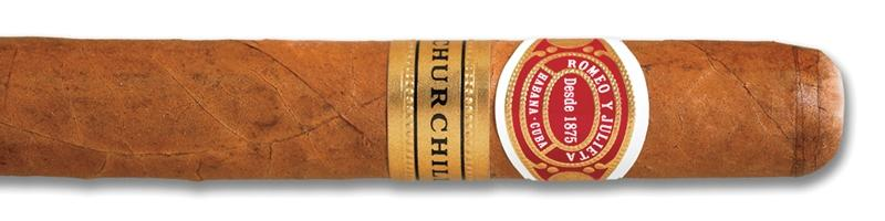 Romeo y Julieta Churchill Tubo