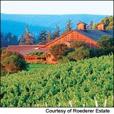 Roederer offers a rich and lively non-vintage brut rosé.
