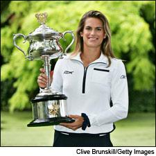 Grand Slam winner Amélie Mauresmo is a wine collector with a preference for Sauternes and red Bordeaux.