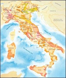 Wine Regions Italy Map.Wine Spectator S Maps Of Key Wine Regions Wine Basics Learn Wine