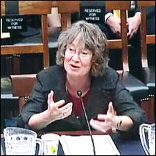 Pam Erickson testified before a Congressional committee on the dangers of deregulating alcohol sales.