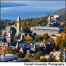 Located in the Finger Lakes, Cornell now has a full undergrad enology program