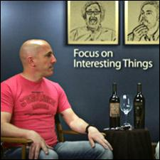 Maynard James Keenan faced some mock scrutiny in an interview for the film Blood Into Wine.