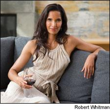 Don't let Padma send you and your wines packing in Sterling Vineyards' Ultimate Host contest.