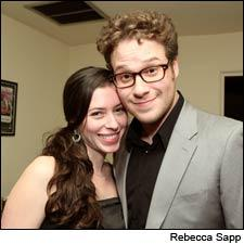 Knocked Up star Seth Rogen made it official in Napa Valley this month.