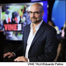 Actor and writer Stanley Tucci is stepping into a new role: Host of PBS' Vine Talk.
