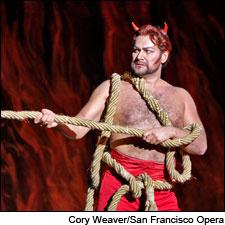 Ildar Abdrazakov in the title role of San Francisco Opera's Mephistopheles