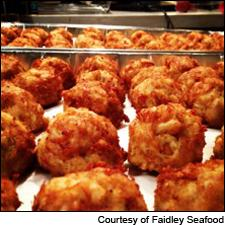Faidley Seafood's Crab Cakes