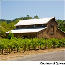 From Quivira comes a soft and pretty 2012 rosé made from Grenache, Syrah and Mourvèdre.