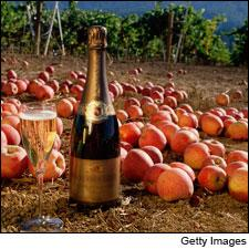 A Contentious Pairing: Champagne and Apple
