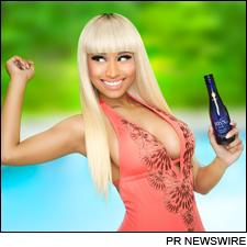 Nicki Minaj says you can catch more Beez in the Trap with Myx Moscato.