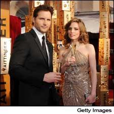 Vitalie Taittinger presumably did not fall victim to the nervous tic of actor Peter Facinelli's Nurse Jackie character.