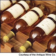 These expensive wines come in very small packages. Unfortunately, expensive small packages are very popular among thieves.