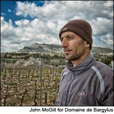 Vineyard workers at Domaine de Bargylus in Syria have faced fighting between factions in the nation's civil war.