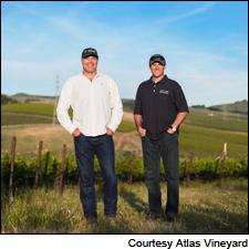 Atlas Vineyard Management's Mike Cybulski (left) and Barry Belli.
