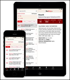 The newly redesigned WineRatings+ app is now offered for both iPhone and iPad.