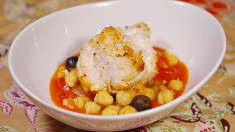 This is the rare fish that has the stuffing to pair with red wine from Spain or Portugal.