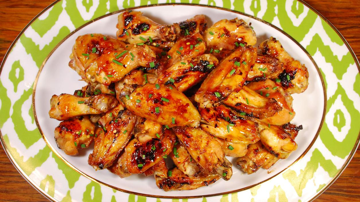 8 & $20: Pineapple-Chile Chicken Wings