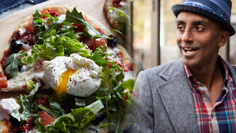 Marcus Samuelsson's Pizza on the Grill