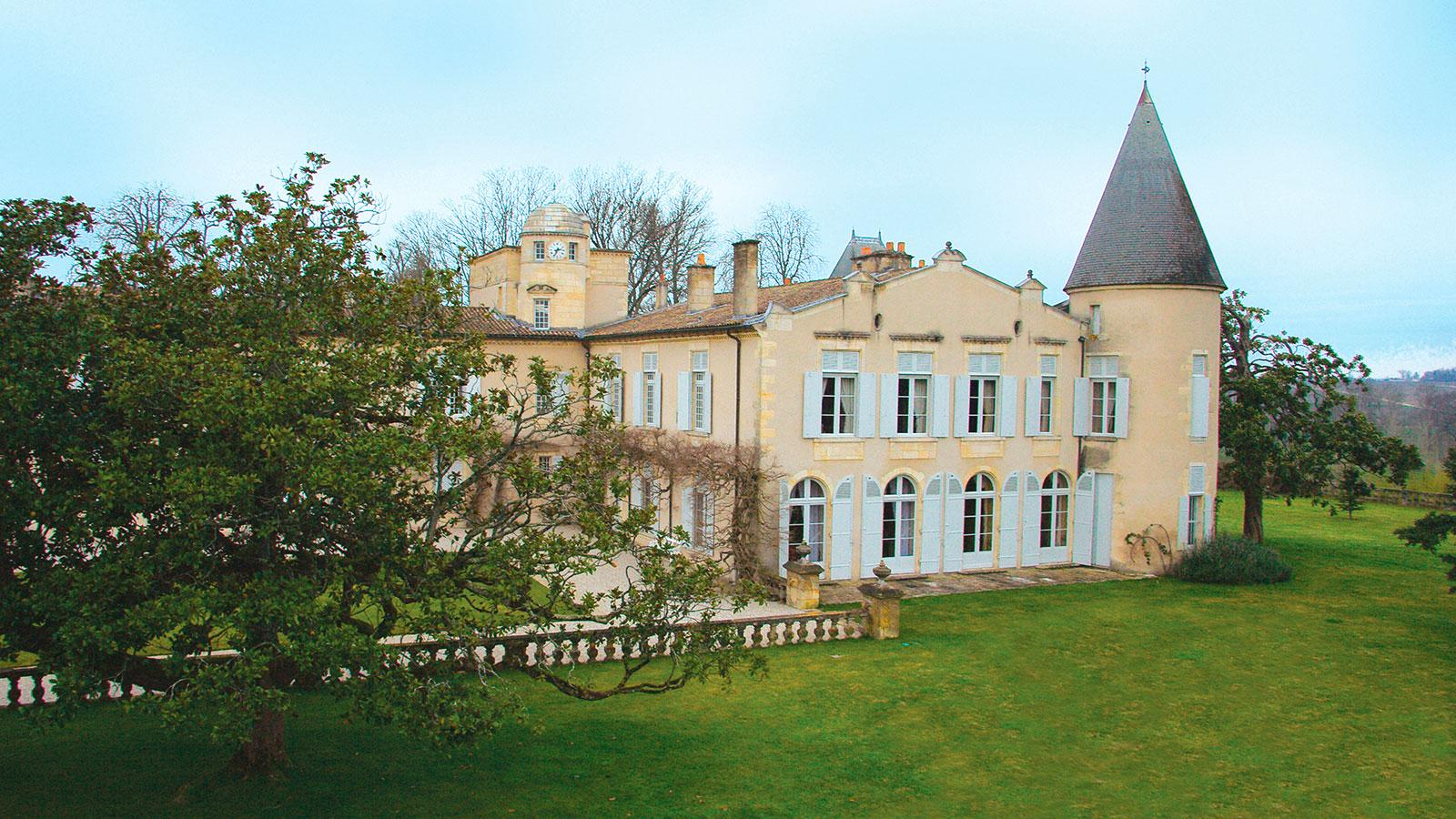 Beautiful harvesstime weather allowed Lafite Rothschild director Charles Chevalier to wait for full ripeness.