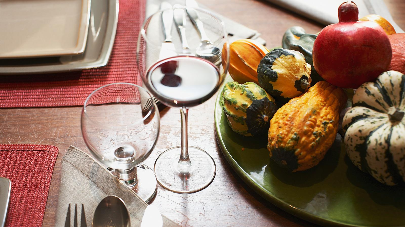 With so many different flavors on the Thanksgiving table, try pouring something unexpected.