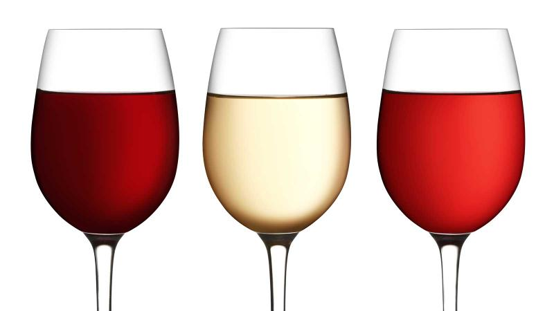 Don't pass on the wine in the middle for health reasons.
