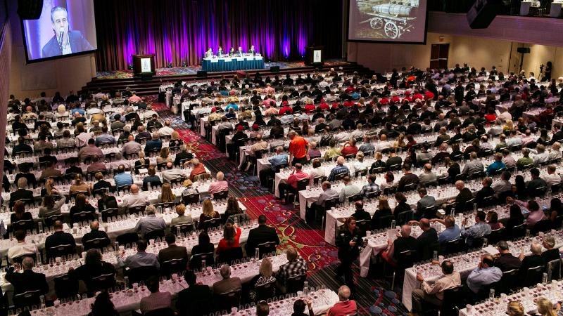 The Wine Experience seminars, like the 2010 Barolo tasting, commanded a packed house.