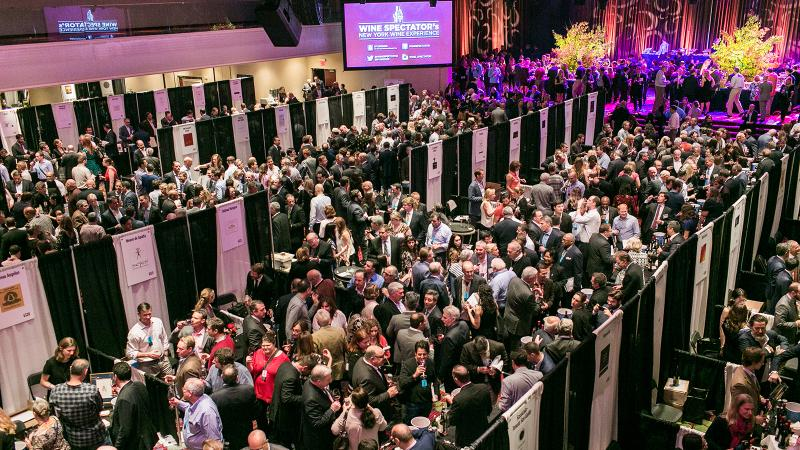 The sold-out Grand Tasting featured 267 wines and a wine-loving cast of thousands.