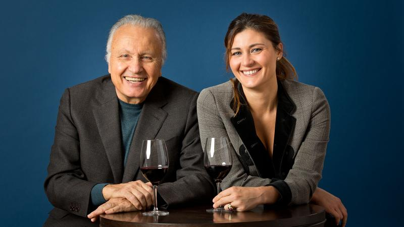 Angelo and Gaia Gaja are devoted to preserving their vineyards, and the planet, for future generations.